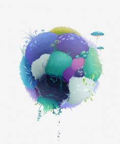 Spheres Illustrations by Zutto | WE AND THE COLOR #vector #illustration #zutto #sphrere #characters