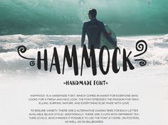 Hammock - Free Handmade Font