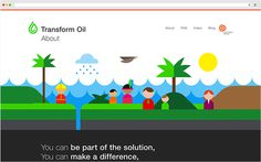 Transform Oil by Face. #website
