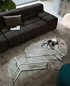 Oval Coffee Table by Ricardo Bello Dias