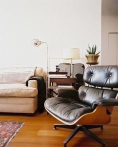 A Lazy Man #vintage #furniture #eames