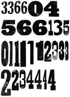 design work life » Type Love 24 #letterpress #wood type