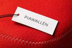 Pia Wallén by The Studio #label #packaging