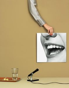 speech.jpg (409×520) #surreal #photography #mouth #clean