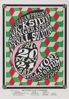 Bill Graham Posters « Wes Wilson #poster