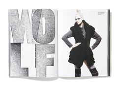 Plastique_Issue2_Spread #spread #print #layout #magazine