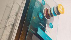 Minimal Mobile UI design with UX