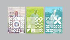 CFA_Posters #dynamic #pattern #branding #farms #geometric #cfa #dna #identity #posters #logo