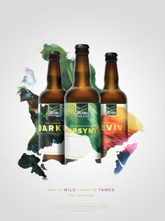 Upland Sour Ales: Family #Upland #Sour #Beer #Bottle #Packaging #Cina #Poster