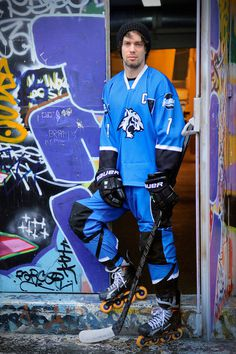 Tigres de garges roller hockey team #photo #photography #uniform #magazine