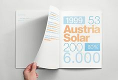Creative Review - The 'solar powered' annual report wins at One Show #austria