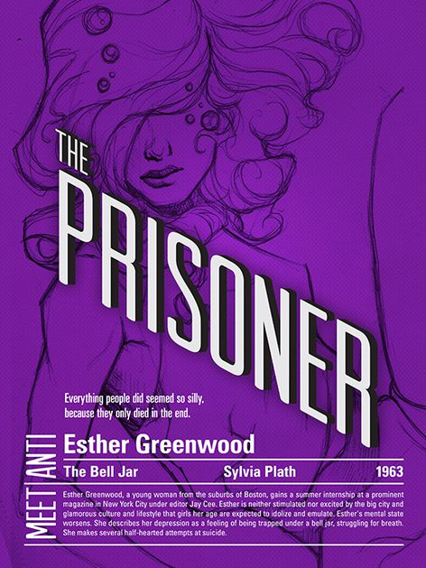 the depression of esther greenwood from the bell jar by sylvia plath