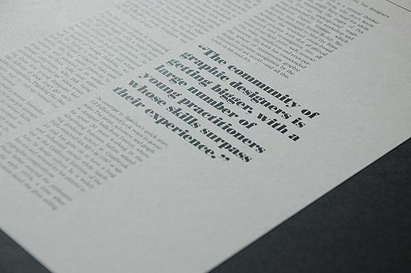TYPE mag Varsity Crime Wave #layout #editorial #magazine #typography