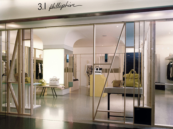 3.1 Philip Lim pop up boutique by Studio Toogood, London store design #retail