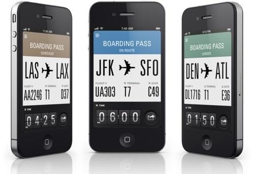http://www.sylion.com/flightcard/ #iphone #app #interactive