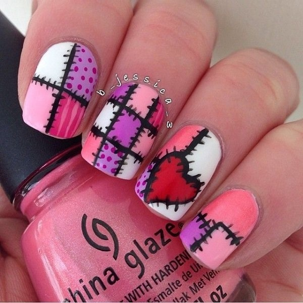 Best Nail Designs Stitches Design Perfect images on Designspiration