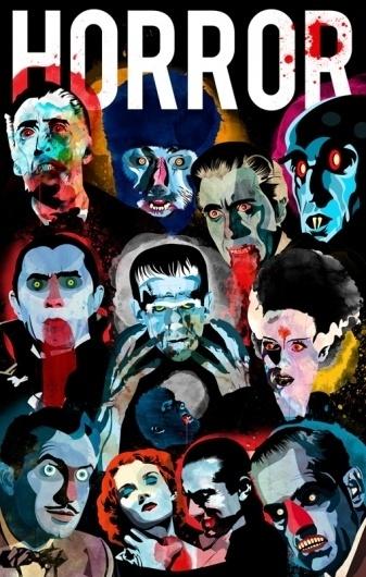 CinemaTv : Alvaro Tapia Hidalgo #poster #illustration #art
