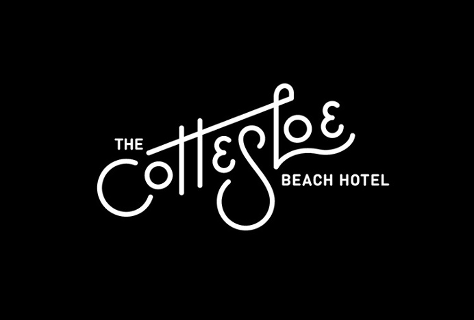 The Cottesloe Beach Hotel by Corey James #logo #logotype