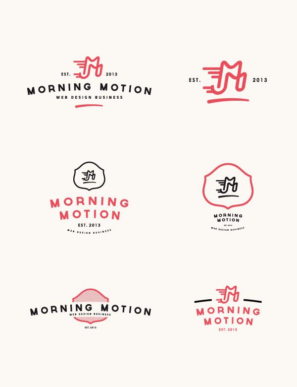 Morning Motion #logo #web #motion #morning