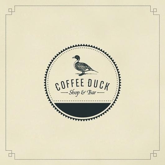 Coffee Duck on the Behance Network #duck #identity #coffee #logo #gaslight