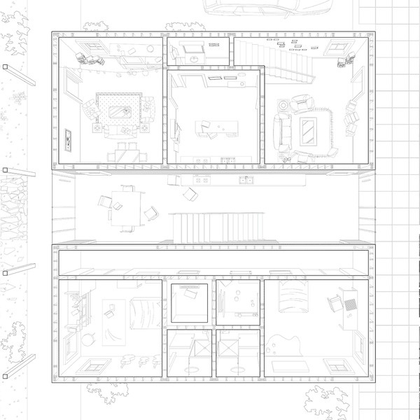 The Cloister / Daisy Ames & Wanli Mo #architecture #drawing