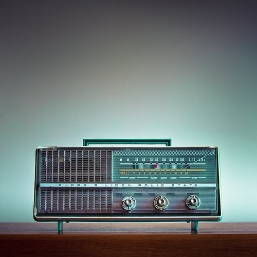 Fuck you Chelios! #radio #photo #vintage