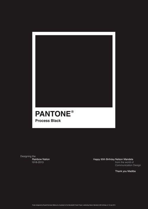 Lead & Light #pantone #poster
