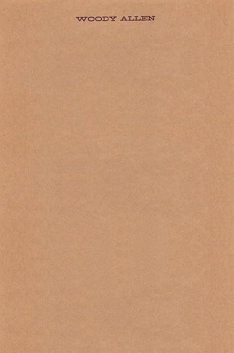 Woody Allen |Â Source #letterhead #kraft #minimal