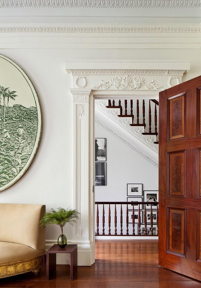 Greenwich Village Greek Revival Townhouse / SheltonMindel