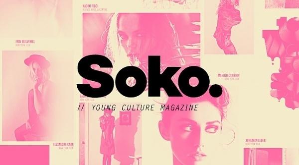 SOKO zine, POGO | art & design boutique #fashion #soko #pogo #magazine
