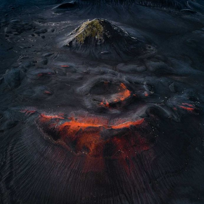 The Crater Series: Volcano Photography by Tom Hegen