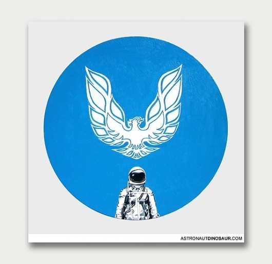 Scott Listfield – Astronaut / Aqua-Velvet #illustration #space #art