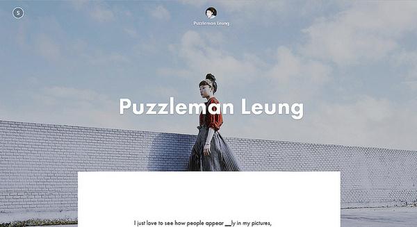 Puzzleman Leung #inspration #photography #art
