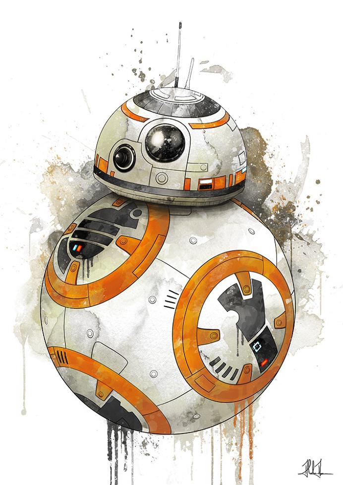BB-8 by AlexAasen #illustration #starwars