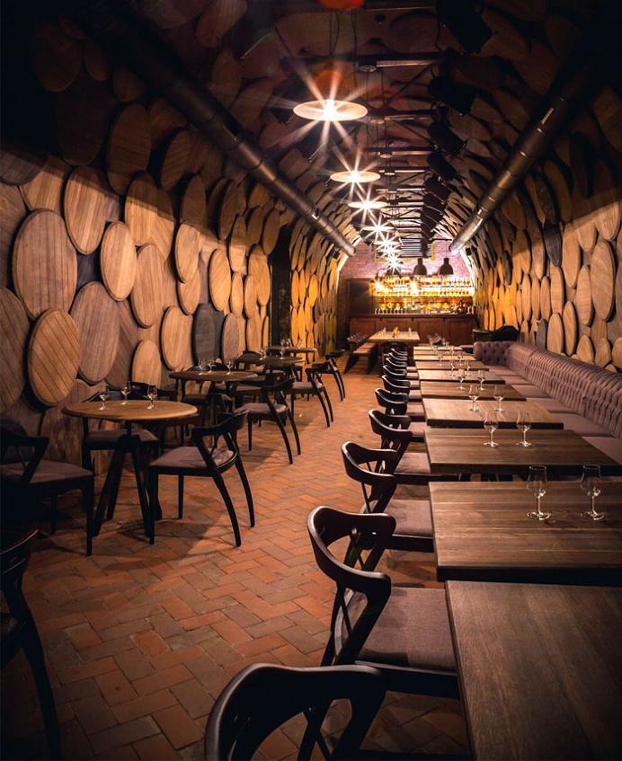 Shustov Brandy Bar Decor by Denis Belenko Design Band - #bar, #decor, #interior
