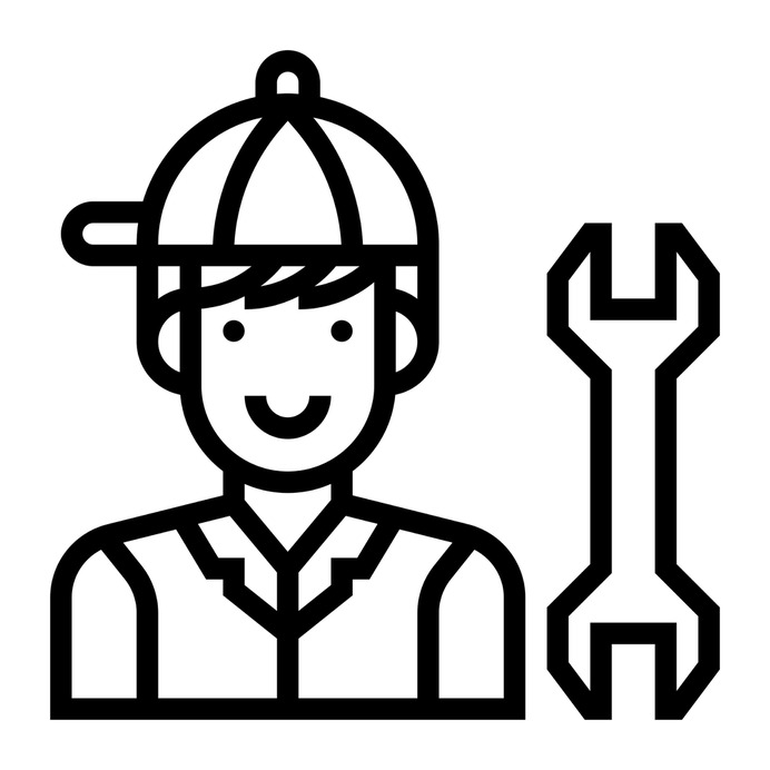 See more icon inspiration related to technician, repair, wrench, tool, professions and jobs, engineer, profession, maintenance, user, cars and avatar on Flaticon.