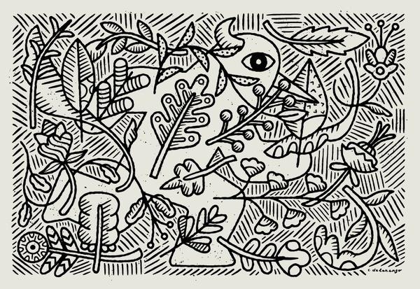 Garden Beast Chris DeLorenzo #illustration