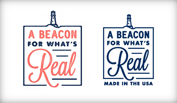 Dan Cassaro #icon #cassaro #beacon #lighthouse #dan #lands #illustration #end #retail #logo