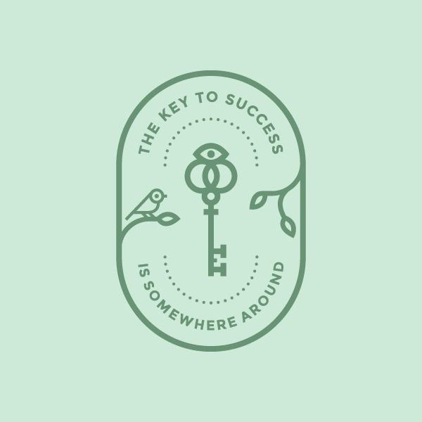 Badges & Emblems - Luke Mynus #badges #logo #key #emblems