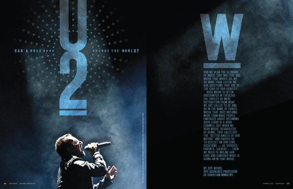 U2 - RK Design #layout #design #editorial