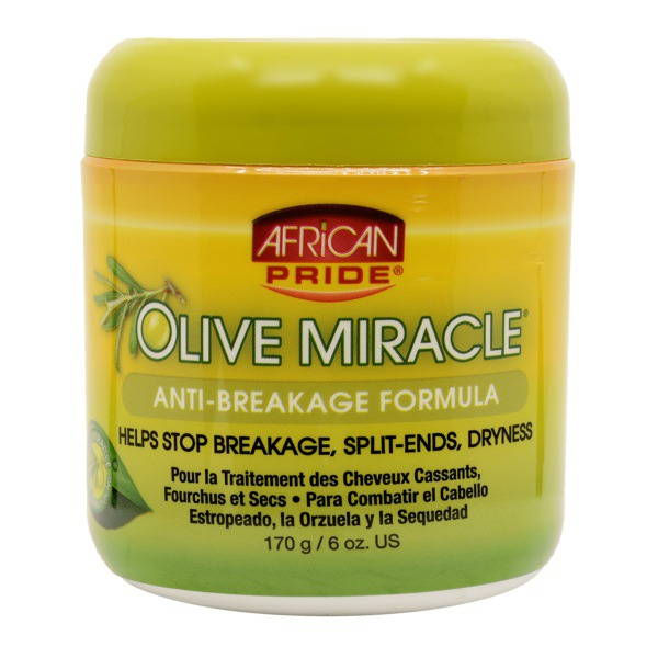 Olive Miracle Anti-Breakage Creme by African Pride