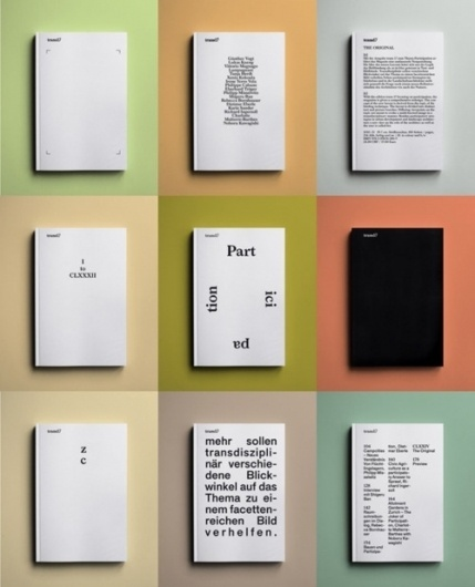 what's the point of inspiration #colors #editorial #typography