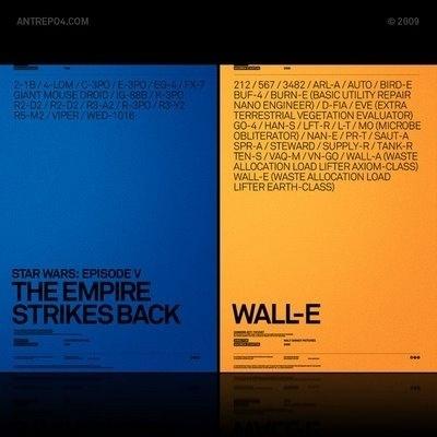 Alternate Movie Poster R2 ~ ANTREPO BLOG / A2591 #design #graphic #poster