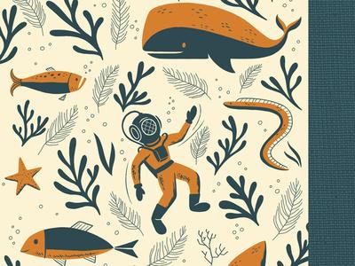 Sea Journal #illustration #sea