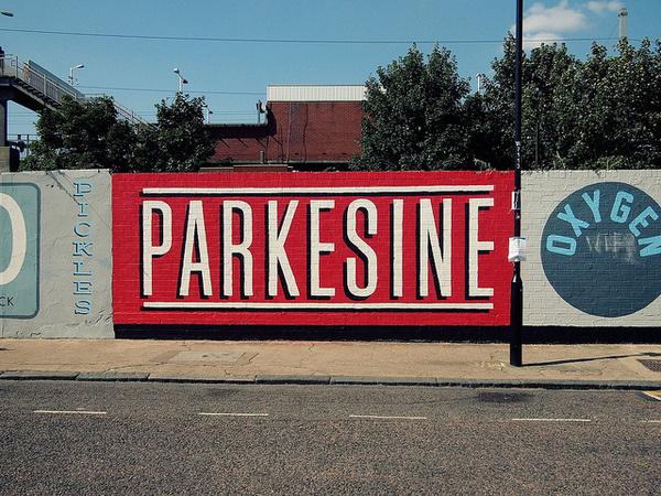 Hackney Wick signage #signage #typography