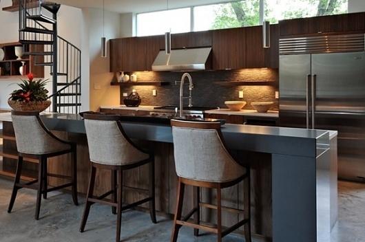 Onestep Creative - The Blog of Josh McDonald » The Laurel Residence by StudioMET #interior #studiomet #modern #design #kitchen #architecture