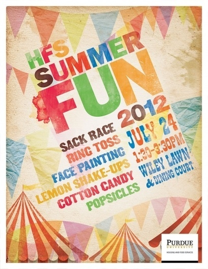 Portfolio of Jon Benson #carnival #circus #fair #summer #tent #fun #flags #typography