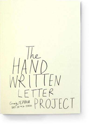 Hand Written Letter Project #handwritten