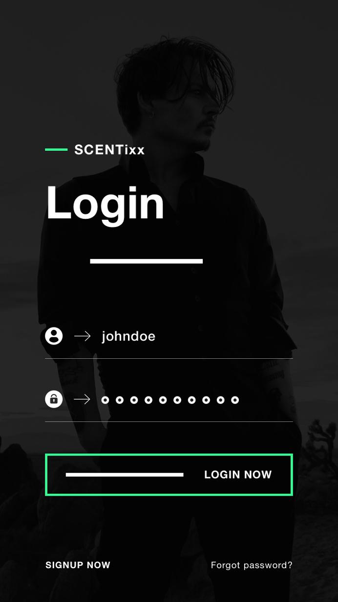 SCENTixx – Perfume shop iOS app