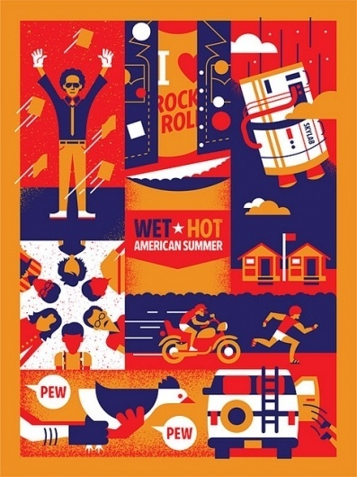 whas_full   Flickr - Photo Sharing! #movie #wet #design #american #bandito #hot #illustration #poster #summer